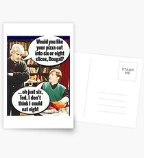 Father Ted Postcards