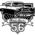56 Chevy Belair by CoolCarVideos