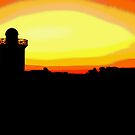 Funky Burry Port Sunrise by Stephen Peters