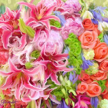 Summer Bouquet by janegirardot
