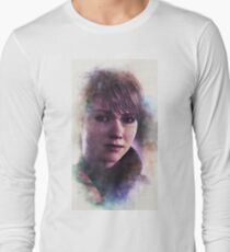 DBH Kara - White/Purple Long Sleeve T-Shirt