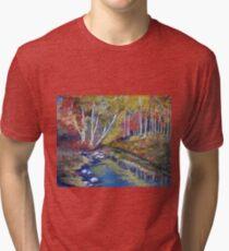Nature's paint brush Tri-blend T-Shirt