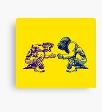 Martial Arts - Way of Life #1 - tiger vs gorilla Canvas Print
