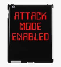 Attack Mode Enabled Funny Gamer iPad Case/Skin