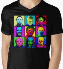 Horror Pop Men's V-Neck T-Shirt