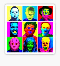 Horror Pop Sticker