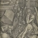 Albrecht Dürer, Melencolia I, 1514 by edsimoneit