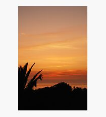 Sunset, Espinho Photographic Print