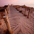 Beach path by deblobbie