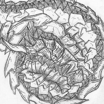 Dragon Sketch 2 by GD-Kitkat