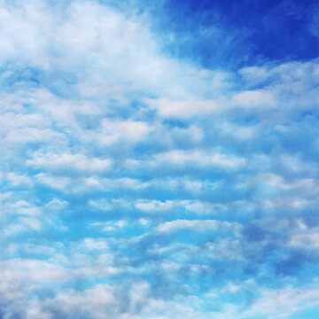 rows of clouds by cipollakate