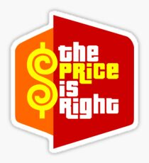 The Price is Right Sticker