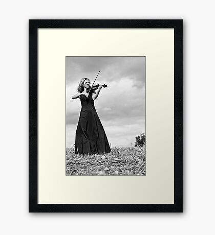 Nature Violin 02 Framed Print