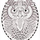Tangled Owl by Christianne Gerstner
