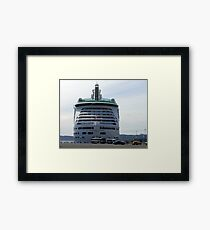 A BIG Rear End Framed Print