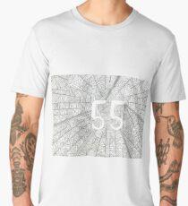 55 Birthday Pattern Men's Premium T-Shirt