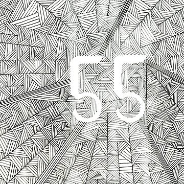 55 Birthday Pattern by irishguydesign