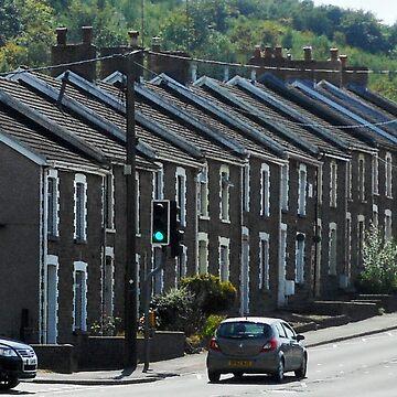 A Street in Hafodyrynys, Wales by BlueMoonRose