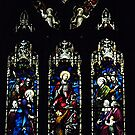 Window in St. Patrick's Cathedral, Ballarat, Victoria by Bev Pascoe