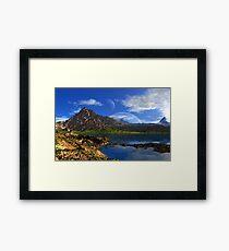 Mount Sadlish Framed Print
