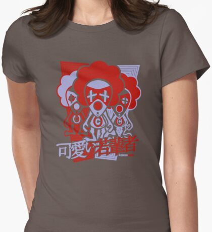 Clown Mascot Stencil T-Shirt