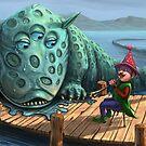Hippo Dragon Loves Music by Tom Godfrey