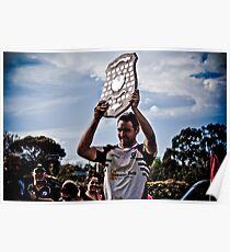 Vice Captain Danny Ryan, Geelong Rams Victory Poster
