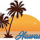 Hawaii - Vintage Hawaiian Design by ericbracewell