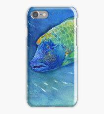 Sad Fish iPhone Case/Skin