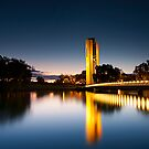 National Carillon In Canberra by Sam Ilic