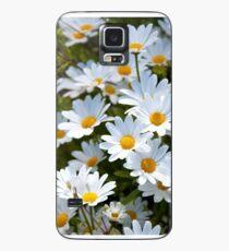 Gänseblümchen Hülle & Klebefolie für Samsung Galaxy