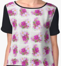 Cosmos in a Shell Chiffon Top