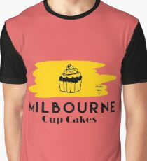 Milbourne Gourmet Cup Cakes Graphic T-Shirt