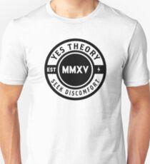 Seek Discomfort Merch Unisex T-Shirt