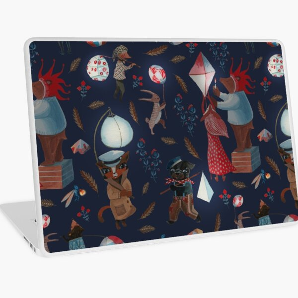 Lantern parade Laptop Skin