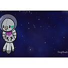 Space Baby - Pidgeon Mug by Lingthusiasm