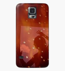 Dancer night stars fantasy analog film double exposure Case/Skin for Samsung Galaxy