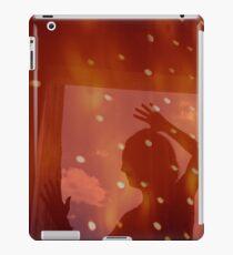 Dancer night stars fantasy analog film double exposure iPad Case/Skin
