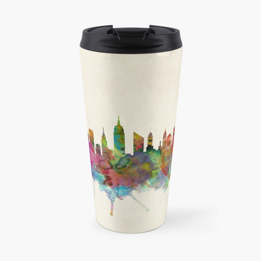 New York City Skyline Thermobecher
