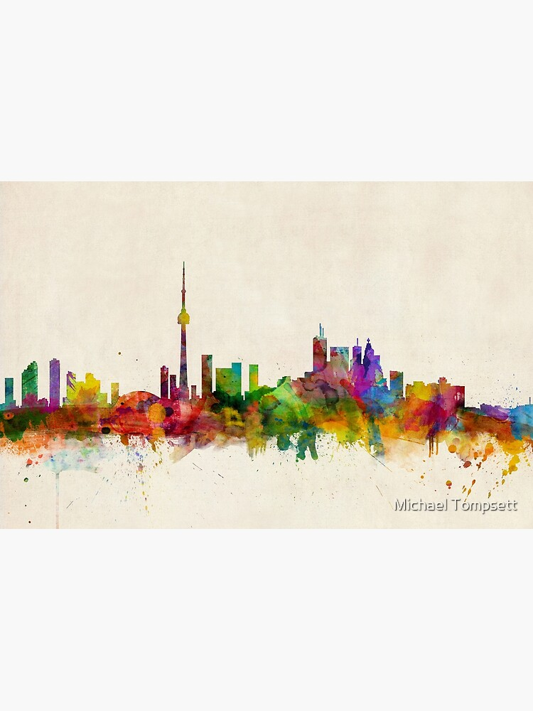 Toronto Skyline von ArtPrints