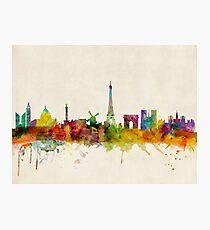 Paris Skyline Fotodruck