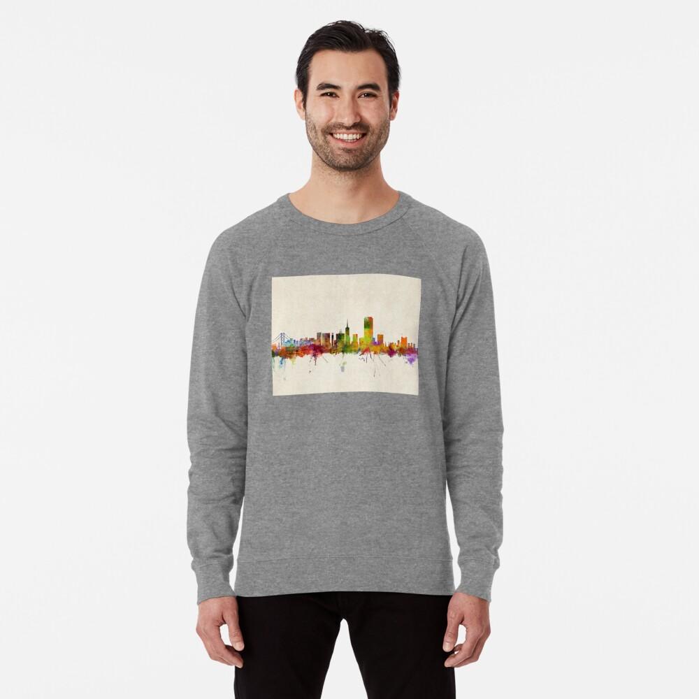 Skyline von San Francisco Leichter Pullover