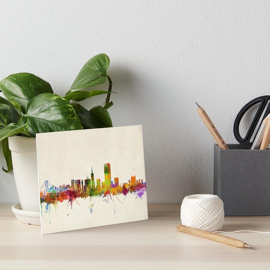 Skyline von San Francisco Galeriedruck