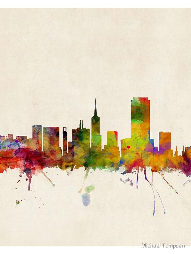 Skyline von San Francisco von ArtPrints