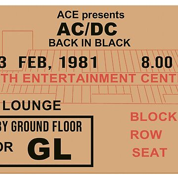 Concert Ticket by LostPerth