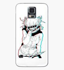 Toga Himiko der verrückte Bösewicht Waifu v2 Hülle & Klebefolie für Samsung Galaxy
