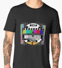 Lost Perth Test Pattern Men's Premium T-Shirt