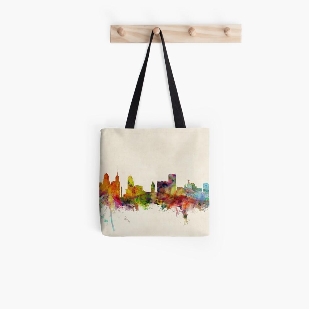 Buffalo New York Skyline Stadtbild Tote Bag