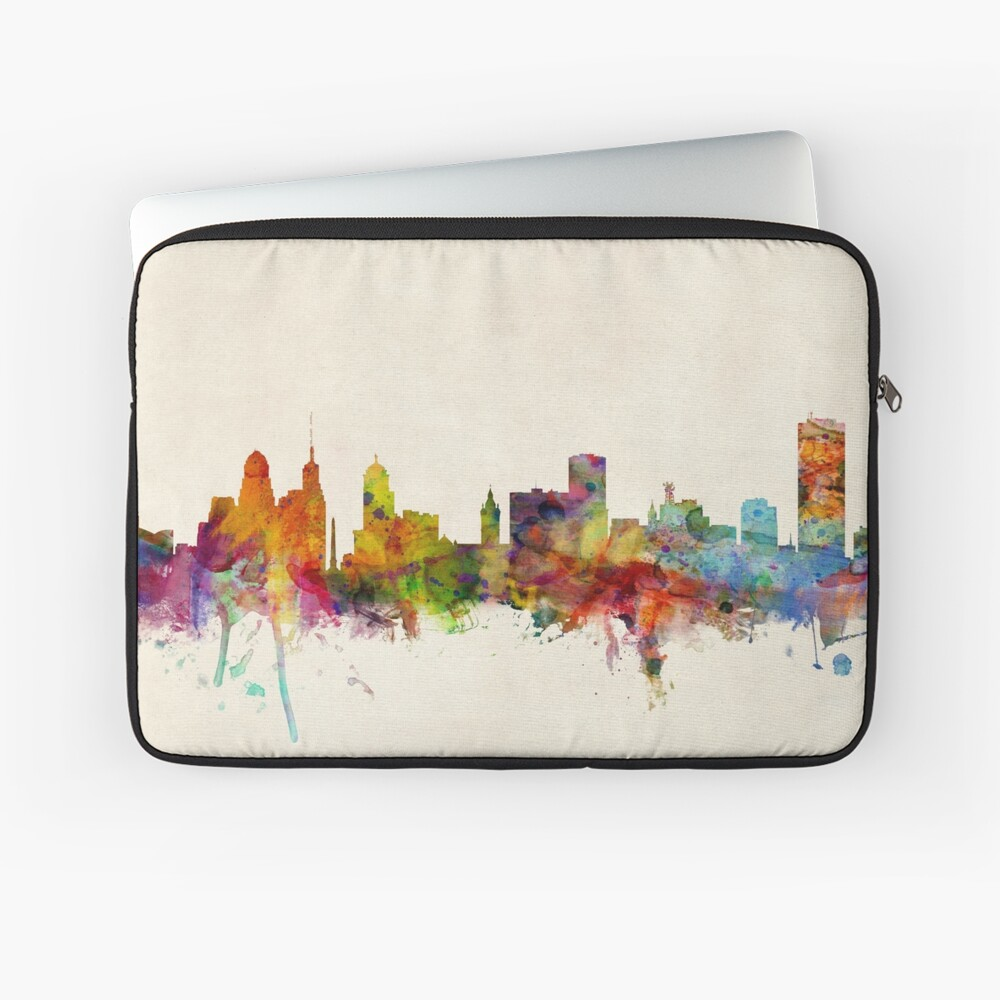 Buffalo New York Skyline Stadtbild Laptoptasche