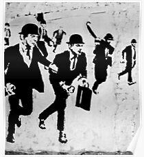Chequebook Vandalism Poster